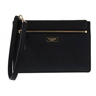 Kate Spade Newbury Lane Wristlet Clutch - Black