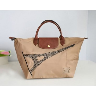 Longchamp Limited Edition Eiffel Tower - Medium Short Handles